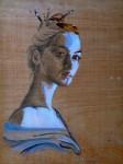 Obras de arte: Europa : España : Principado_de_Asturias : Gijón : La mujer azul