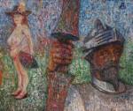 Obras de arte: Europa : Rusia : Moscow : Moscow_ciudad : Don Quijote y Dulcinea del Toboso
