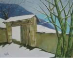 Obras de arte: Europa : España : Castilla_y_León_Burgos : burgos : Paisaje nevado