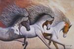 Obras de arte:  : España : Andalucía_Sevilla : Sevilla-ciudad : Los caballos