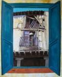 Obras de arte: Europa : España : Castilla_y_León_Burgos : burgos : Desde mi ventana 2