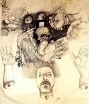 Obras de arte: America : México : Tabasco : Villahermosa : dibujo