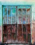 Obras de arte:  : España : Galicia_Pontevedra : Cangas : puertas 2