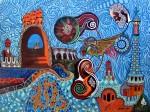Obras de arte: Europa : España : Catalunya_Barcelona : Castelldefels : Sueños de Gaudí