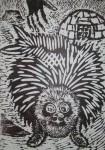 Obras de arte: America : México : Nuevo_Leon : Monterrey : Inocente foquita punk