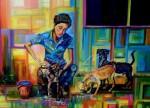 Obras de arte: America : Colombia : Santander_colombia : Bucaramanga : Baños De Libertad