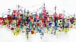 Obras de arte: America : Cuba : Camaguey : Camaguey_ciudad : Ciudad II