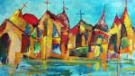 Obras de arte: America : Cuba : Camaguey : Camaguey_ciudad : Ciudad V