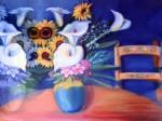 Obras de arte: America : México : Guanajuato : San_Miguel_de_Allende :  alcatraces