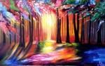 Obras de arte:  : Argentina : Buenos_Aires : Lomas_de_Zamora : bosque de luz