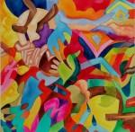Obras de arte:  : Costa_Rica : San_Jose : Moravia : Atardecer en Puerto Viejo