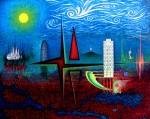 Obras de arte: Europa : España : Catalunya_Barcelona : Castelldefels : Grandes Torres y Grandes Genios o locos