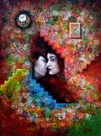 Obras de arte: Europa : España : Catalunya_Barcelona : Castelldefels : El Beso