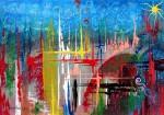 Obras de arte: Europa : España : Catalunya_Barcelona : Castelldefels : Progreso en proyección