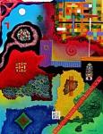 Obras de arte: Europa : España : Catalunya_Barcelona : Castelldefels : Estudio Textura Color 2 (Catalunya)