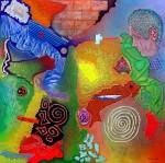Obras de arte: Europa : España : Catalunya_Barcelona : Castelldefels : Estudio Textura Color 6 (Reciclar lo Viejo)