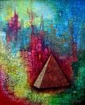 Obras de arte: Europa : España : Catalunya_Barcelona : Castelldefels : La Pirámide y los 7 escorpiones de Isis