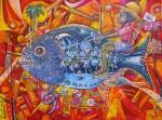 Obras de arte:  : Estados_Unidos : Florida : orlando : El Expreso de la mañana