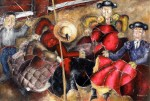 Obras de arte: Europa : España : Castilla_y_León_Salamanca : BéJAR : Suerte de varas