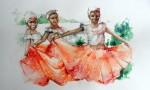 Obras de arte: America : Ecuador : Guayas : GUAYAQUIL : bellesas  de esmeraldas