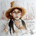 Obras de arte: America : Ecuador : Guayas : GUAYAQUIL : la serranita