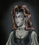 Obras de arte: America : Colombia : Risaralda : Pereira_ciudad : princesa  vampira