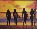 Obras de arte:  : España : Catalunya_Barcelona : Badalona : Surf eres