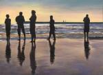 Obras de arte:  : España : Catalunya_Barcelona : Badalona : El color del mar