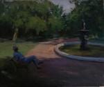 Obras de arte:  : Argentina : Buenos_Aires : Lanus_Este : Descansando a la sombra