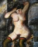 Obras de arte: Europa : España : Castilla_y_León_Salamanca : BéJAR : Haciendose la coleta