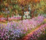 Obras de arte:  : Ucrania : Kiev : Kiev_ciudad : El jardín del artista en Giverny