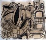 Obras de arte: America : Cuba : Camaguey : Camaguey_ciudad : El bolero
