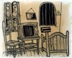 Obras de arte: America : Cuba : Camaguey : Camaguey_ciudad : El dormitorio de Árles