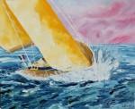"Obras de arte:  : España : Catalunya_Barcelona : Barcelona : ""Navegando a la deriva"""