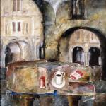 Obras de arte: Europa : España : Castilla_y_León_Salamanca : BéJAR : Cafe en el Corrillo