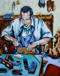 Obras de arte: America : Colombia : Antioquia : Medellin : Zapatero