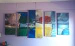 Obras de arte: America : Chile : Region_Metropolitana-Santiago : Renca : Las cuatro estaciones