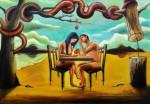 Obras de arte: America : Colombia : Distrito_Capital_de-Bogota : Bogota : PRIMEROS CÓMPLICES