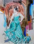 Obras de arte: Europa : España : Andalucía_Granada : almunecar : bailando 3