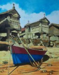 Obras de arte: Europa : España : Castilla_y_León_Burgos : burgos : Horreos