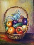 Obras de arte: Europa : España : Madrid : Las_Rozas : Cesta con frutas