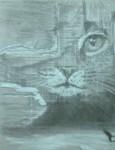 Obras de arte: Europa : España : Andalucía_Granada : almunecar : gato1