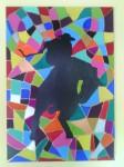Obras de arte:  : España : Catalunya_Barcelona : Cornella_Llobregat : Jineteada  entre colores