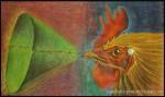 Obras de arte:  : Cuba : Camaguey : Camaguey_ciudad : Pregonero