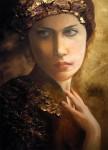 """Obras de arte: America : Argentina : Buenos_Aires : Capital_Federal : """"Mujer de miel y hojarasca"""""""