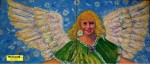 """Obras de arte:  : España : Andalucía_Granada : Granada_ciudad : OBRA DÍPTICO: """"ÁNGEL PARA EVELYN"""""""