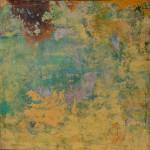 Obras de arte: Europa : España : Andalucía_Huelva : Ayamonte : Se oye..., como del paraíso el riego de la tarde en el jardín cerrado
