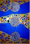 Obras de arte:  : España : Catalunya_Barcelona : Cornella_Llobregat : Esferas de Mar