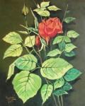 Obras de arte: Europa : España : Castilla_y_León_Burgos : burgos : Rosa y hojas