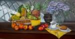 Obras de arte:  : Colombia : Cundinamarca : BOGOTA_D-C- : Frutas sobre la repisa